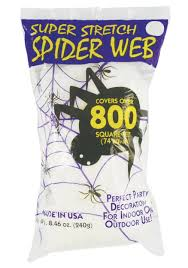 interior halloween decorations spider web with regard to