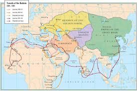 Bay Of Bengal Map 1350 Karte Von Ibn Battutas Reisen Trouvailles De L U0027histoire