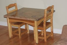 Kids Farmhouse Table Mocka Belle Kids Table Chair Set Kids Replica Furniture Mocka