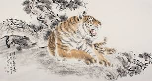 original painting tiger best beautiful modern