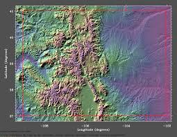 colorado topographical map topographic map