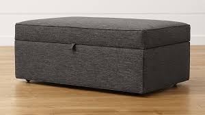 Storage Ottoman Davis Storage Ottoman With Tray In Ottomans Cubes Reviews