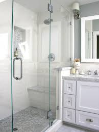 Shower Designs With Bench Charming White Stone Walk In Showers With Bench Of Great Walk In