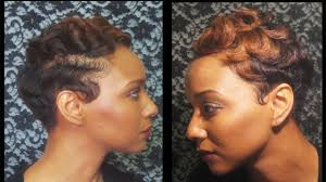 african american soft waves hair styles how to watch how i finger wave and curl my short hair youtube