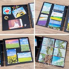 photo album pages sticky handmade 16 inches diy photo album for 300 photos family sticky