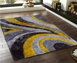 Gray And Yellow Living Room Yellow And Grey Rug Runners Creative Rugs Decoration