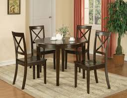 round dining table for 4 can reflect the mood of your room qc homes