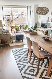 Small Living Dining Room Ideas House Tour A Sophisticated Mixed Matched Rental Living Rooms