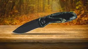 Kershaw Kitchen Knives Kershaw Offers New Camo Handle Blur Knife Newsroom