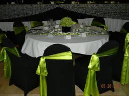 Green Chair Covers 8 Best Lime Green Black U0026 White Weddings Images On Pinterest