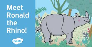 twinkl writing paper meet ronald the rhino the star of twinkl 039 s newest ebook