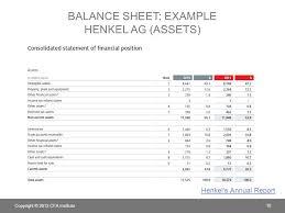 Consolidated Balance Sheet Template Chapter 5 Understanding Balance Sheets Ppt