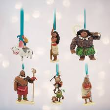 disney moana ornament set limited edition home