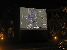 8 u0027 wide backyard movie screen austin san antonio texas