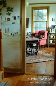 Country Primitive Home Decor 192 Best Naive Wall Murals Images On Pinterest Wall Murals