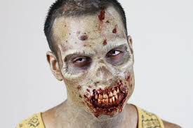 walking dead inspired zombie makeup application youtube