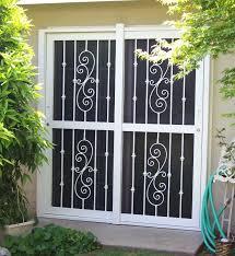 Patio Door Security Shutters Sliding Glass Door Security Grilles Sliding Door Designs