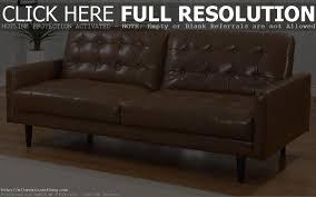 pleasing jonas leather sofa sleeper sleepersfutons scandinavian