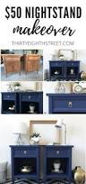 best ideas about navy furniture pinterest blue gorgeous painted furniture makeovers modern nightstands for under thirty eighth street