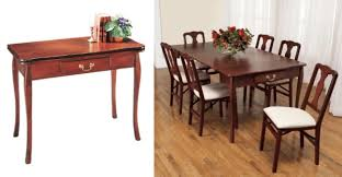 awesome looking space saving tables for small space hosting