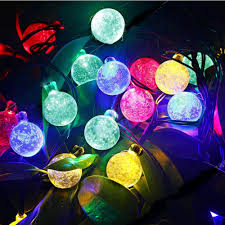 aliexpress com buy tanbaby 6m 30led crystal ball string light