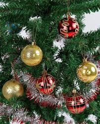 red and gold christmas tree ideas ornaments garland and more