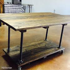 real life wood workbench plans and inspiration photos the rolling workstation