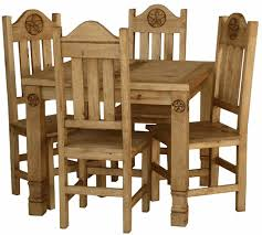 Mexican Dining Room Furniture by Surprising Mexican Pine Dining Table And Chairs 11 For Your Dining