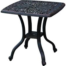 Patio Side Tables Metal Outdoor Furniture Table Outdoor Patio Sets Clearance Patio