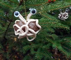 flying spaghetti clay ornament by craftypa on deviantart