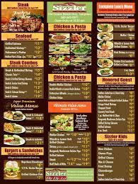 sizzler menu sizzler reviews