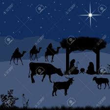 christmas manger christmas nativity with baby jesus in the manger with