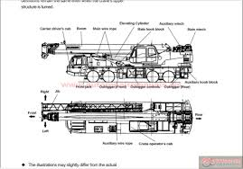 tadano gt 550e 2 operation and maintenance manual auto repair
