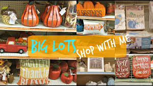 big lots shop with me home and fall decor youtube