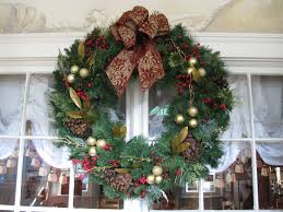 Homemade Christmas Wreaths by Decorated Christmas Wreaths Nana U0027s Workshop