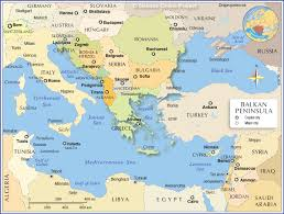 Show Me A Map Of The Middle East by Political Map Of The Balkan Peninsula Nations Online Project