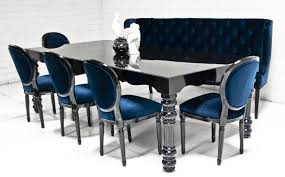 Gloss Dining Tables Www Roomservicestore Bel Air Dining Table In High Gloss Black