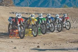 motocross bike makes motocross action magazine dyno daze how much horsepower do the