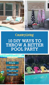 How To Throw A Backyard Party Diy Pool Ideas Pool And Backyard Decorating Ideas