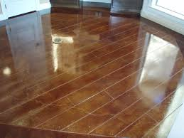 Laminate Flooring On Concrete Slab Scored Concrete Patio Home Flooring Decorations Deck Designs
