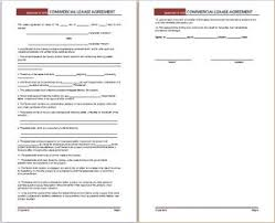 lease agreement template business templates pinterest