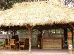 Mexican Thatch Roofing by Custom Built Tiki Huts Tiki Bars Nationwide Delivery