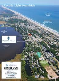 Map Of Outer Banks Nc Aerial Map Overview Florida Outer Banks Real Estate Development