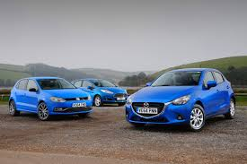 mazda c2 mazda 2 vs vw polo u0026 ford fiesta auto express