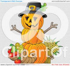 royalty free thanksgiving images clipart of a thanksgiving pumpkin man with a cornucopia royalty