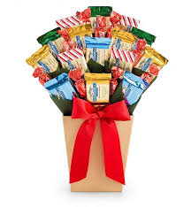 ghirardelli gift basket bonbon blooms ghirardelli celebration chocolate