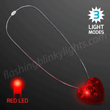 light necklace images Red heart light necklace led quot neon look quot at gif