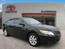 2011 toyota camry colors pre owned 2011 toyota camry le 4d sedan in mcdonough 528296a