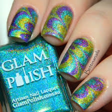nails of the day peacock plumage u2013 hellogiggles