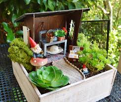 miniature potting bench set potting bench seed box with garden